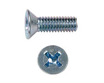 PHILIPS FLAT HEAD MACHINE SCREW